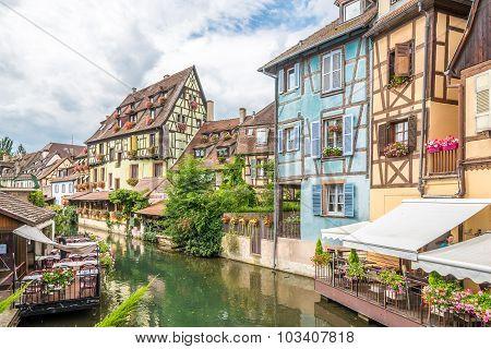 Through Colmar Running The Lauch River