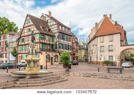 In The Streets Of Colmar City