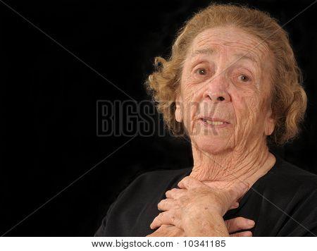 Grandma In Dismay