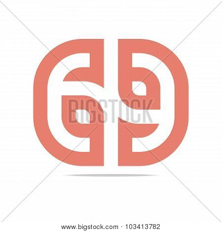 Logo Abstract Symbol letter