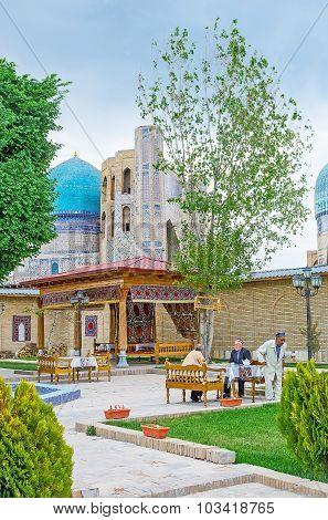 Relax In Samarkand