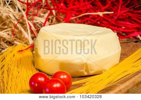 Products For Cooking Delicious Italian Pasta