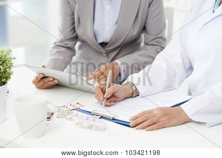 Filling general contract agreement
