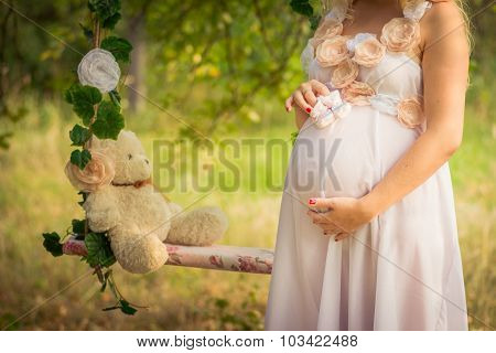 Pretty Pregnant Belly