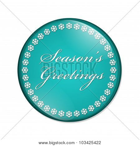 Season's Greetings Button