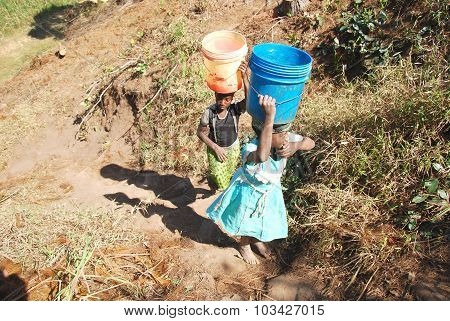 The Precious Water In The Region Of Kilolo, Tanzania Africa 36