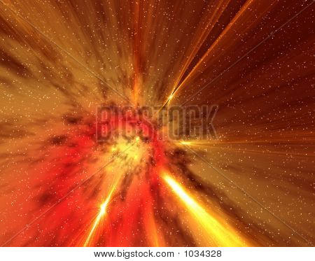 Universo ardiente