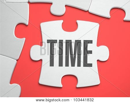 Time - Puzzle on the Place of Missing Pieces.