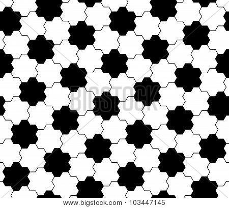 Vector modern seamless geometry pattern gears black and white