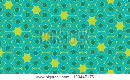 Vector Modern Seamless Colorful Geometry Pattern, Cells