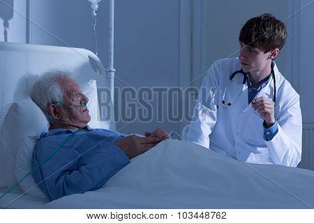 Elder Patient And Doctor