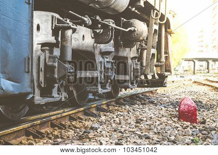 Suspension Of Thai Train Vintage Style