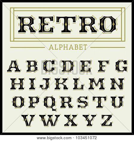 Vintage Font Set