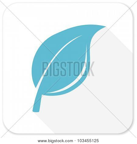 nature blue flat icon
