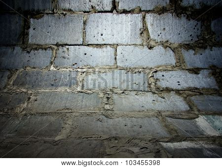 Brick Wall Texture, Empty Interior