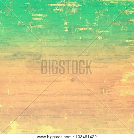 Abstract grunge background. With different color patterns: yellow (beige); brown; pink; green
