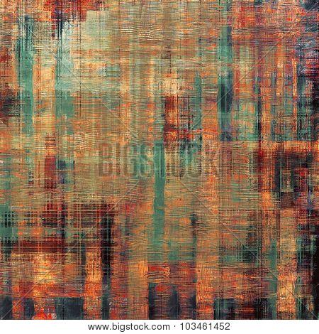 Art grunge vintage textured background. With different color patterns: brown; purple (violet); green; red (orange)