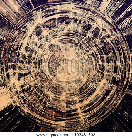 Abstract grunge background. With different color patterns: yellow (beige); brown; gray; black