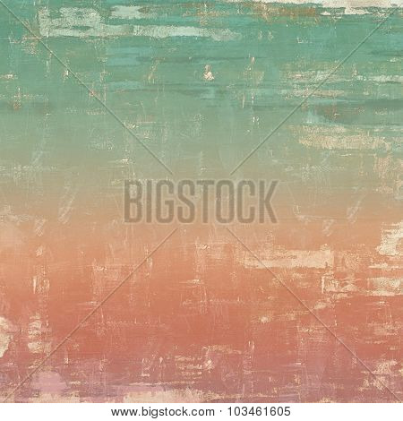 Old antique texture or background. With different color patterns: yellow (beige); pink; green; cyan