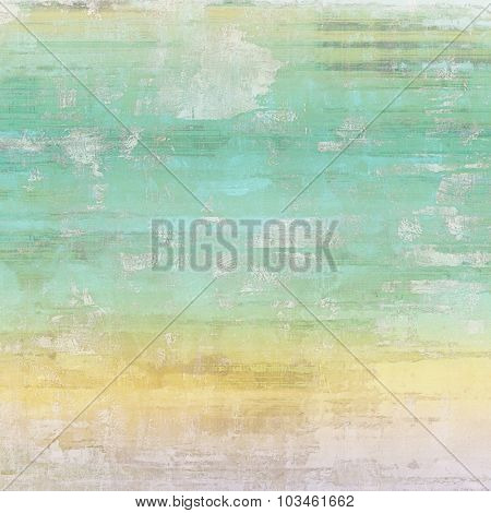 Antique vintage background. With different color patterns: yellow (beige); blue; gray; cyan