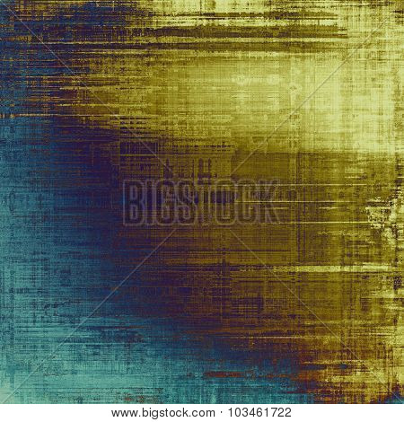Abstract retro background or old-fashioned texture. With different color patterns: yellow (beige); brown; purple (violet); blue