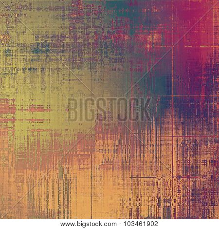 Old Texture. With different color patterns: yellow (beige); brown; purple (violet); green