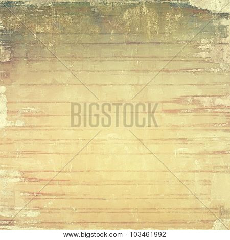 Old school textured background. With different color patterns: yellow (beige); brown; gray