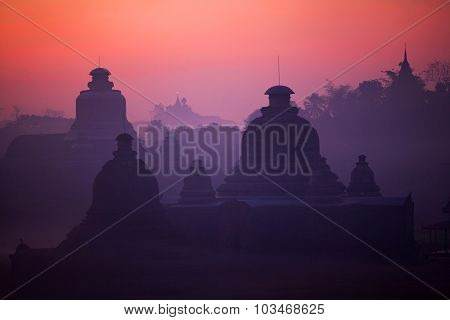 Htukkanthein Temple In Mrauk U, Myanmar
