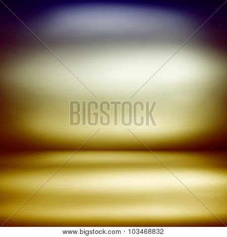 Abstract defocused colorful blurred background through the Looking Glass