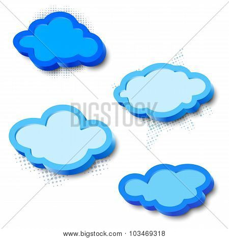 3d cloud frames