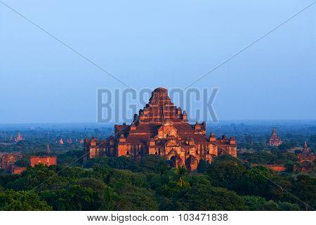 Dhammayangyi Pahto In Bagan Archaeological Zone, Myanmar
