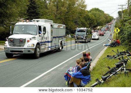 Fire Truck Parade 5