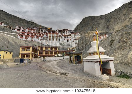 Rizong Monastery , Buddhist Temple In,leh, Ladakh, Jammu And Kashmir, India.