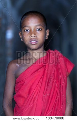 Novice Monk, Myanmar