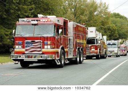 Fire Truck Parade 9