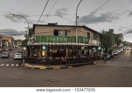Urban Scene Of Port Iguazu Misiones Argentina