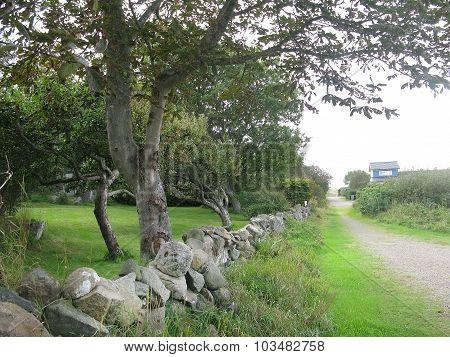 Drystone fence