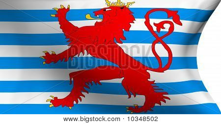 Flag Of Luxemburg (red Lion)