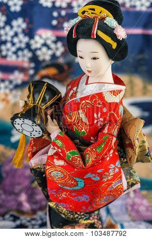 Japanese Doll close-up