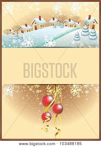 Marry Christmas vector illustration