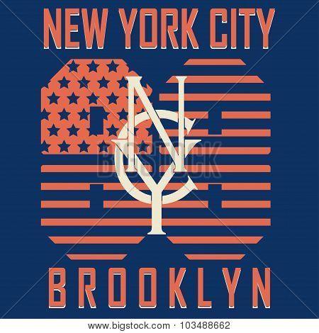 Brooklyn original sportwear t-shirt