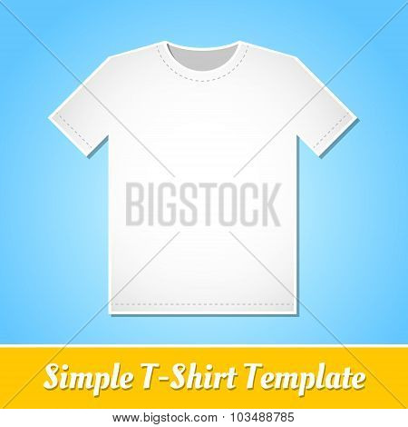 Simple T-shirt Template