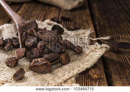 Portion Of Dried Cola Nuts