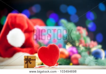 Gift Box And Heart Shape Toy