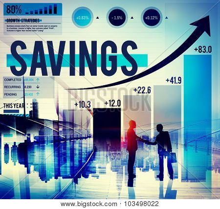 Saving Save Accounting Finance Investment Concept