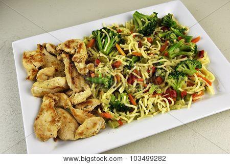 Oriental Chicken Entree