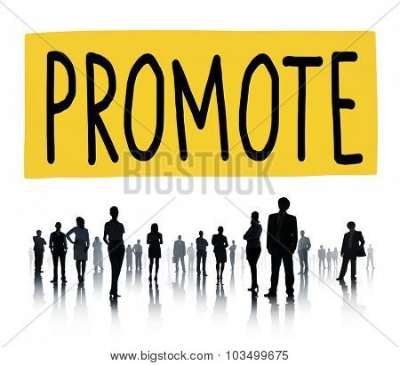 Promote Commerce Announcement Marketing Product Concept