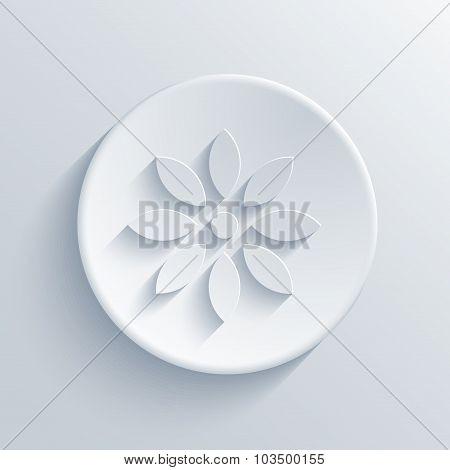 Vector modern  light circle icon