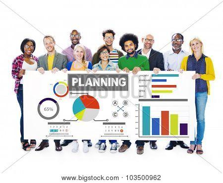 Diversity Group Planning Ideas Information Teamwork Concept