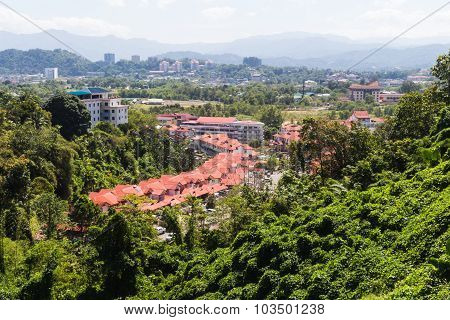 A Small City Surrounded By Jungle